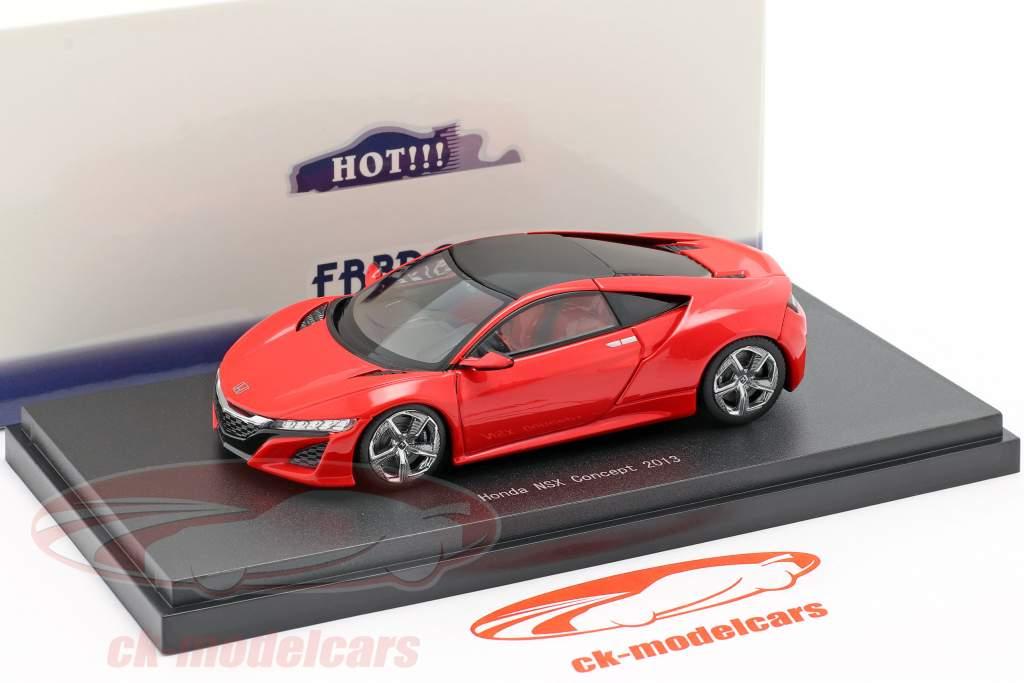 Honda NSX Concept Car 2013 rosso 1:43 Ebbro