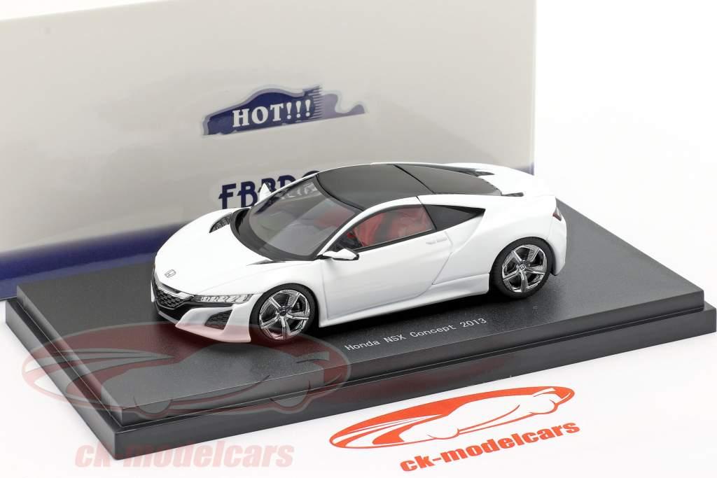 Honda NSX Concept Car 2013 pérola Branco 1:43 Ebbro