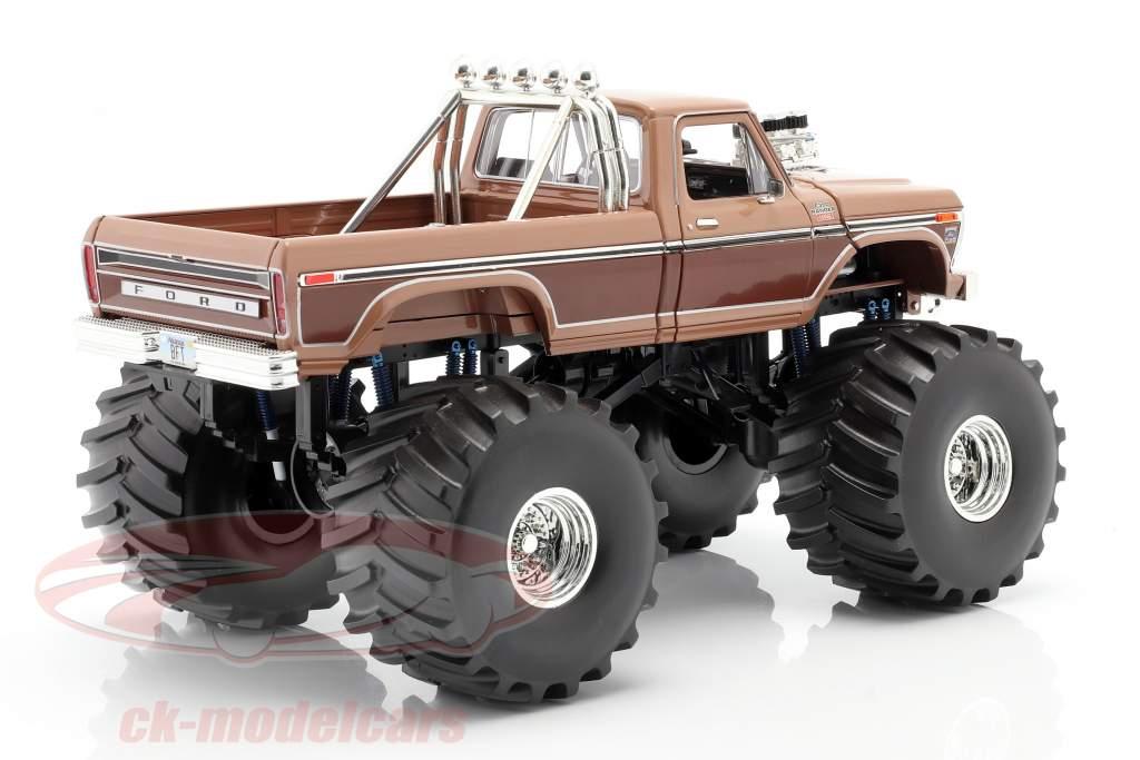 Ford F-350 Monster Truck BFT 66 inch tires 1978 braun 1:18 Greenlight