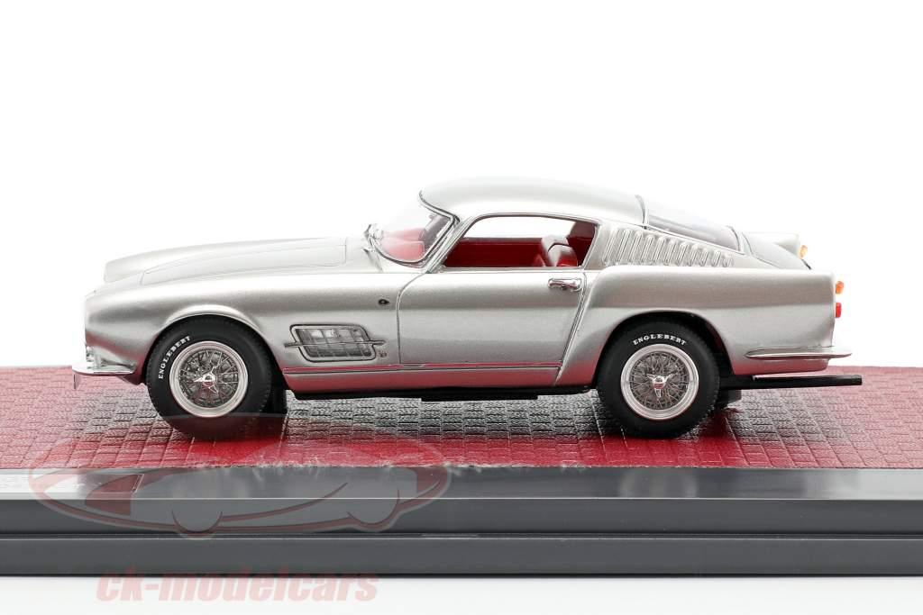 Ferrari 250 GT Berlinetta Speciale Bouwjaar 1956 zilver metalen 1:43 Matrix