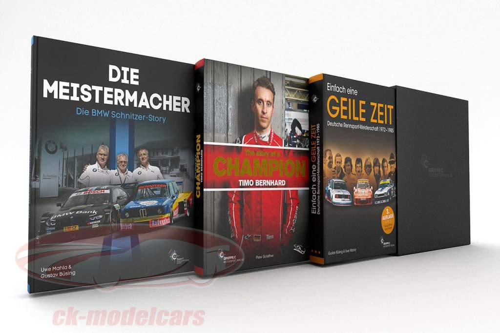 Ensemble de 3 livres: TRIO - Génial Temps / Champions fabricant / Timo récit