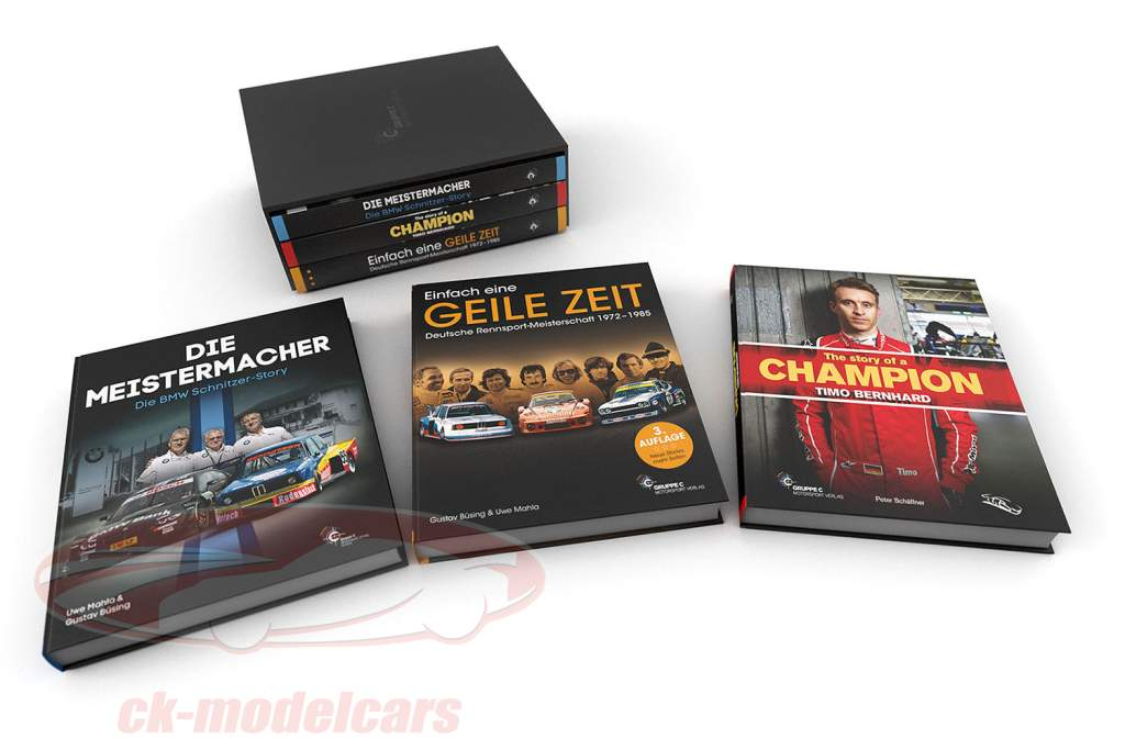 3-book set: TRIO - Great Time / Champions maker / Timo story