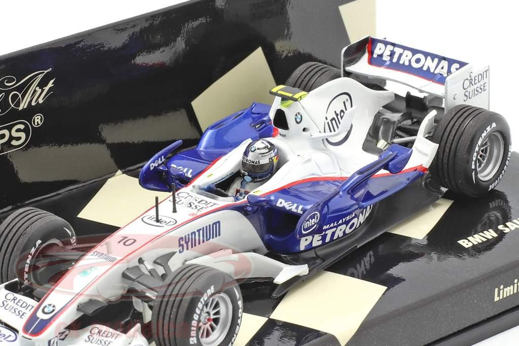 Sebastian Vettel BMW Sauber F1.07 #10 USA GP 2007 1:43 Minichamps