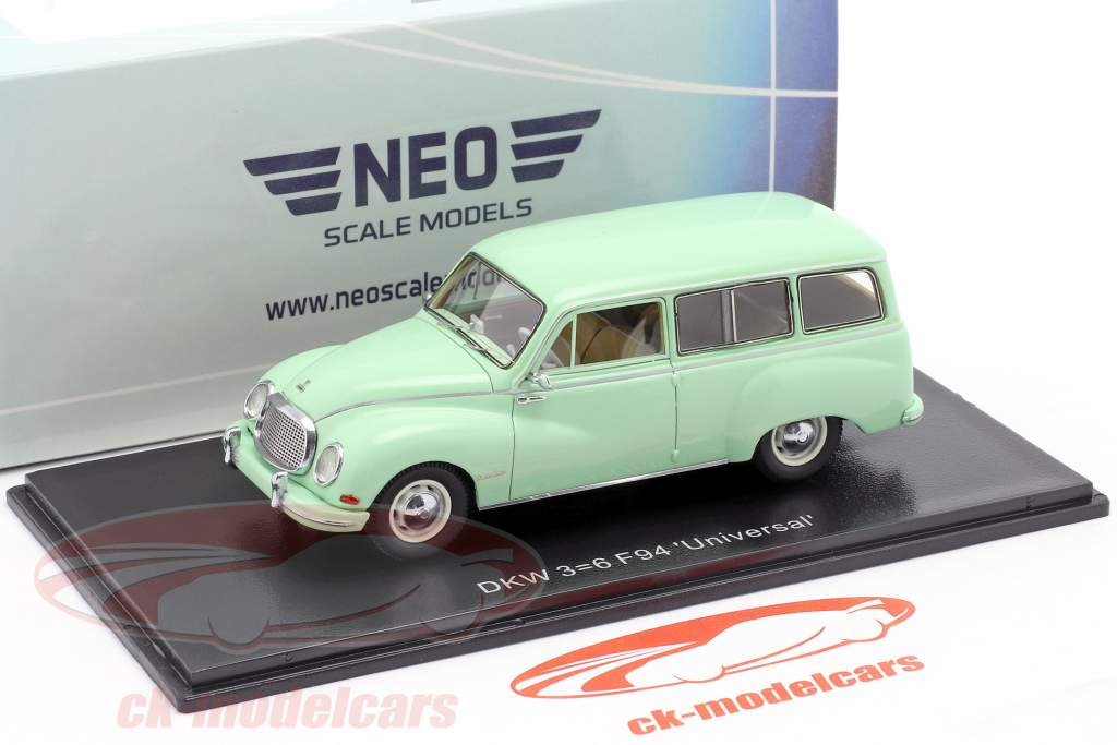 DKW 3=6 F94 Universal lime 1:43 Neo