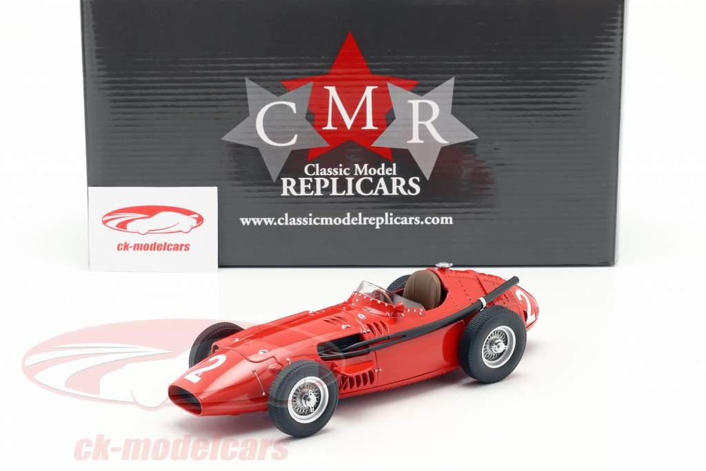 J. M. Fangio Maserati 250F #2 winnaar Frans GP Wereldkampioen F1 1957 1:18 CMR