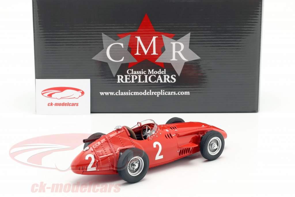 J. M. Fangio Maserati 250F #2 vincitore francese GP Campione del mondo F1 1957 1:18 CMR
