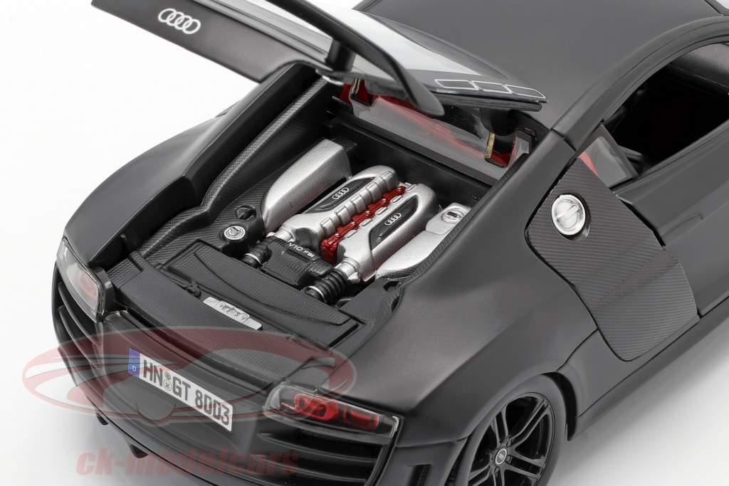 Audi R8 GT stuoia nero 1:18 Maisto