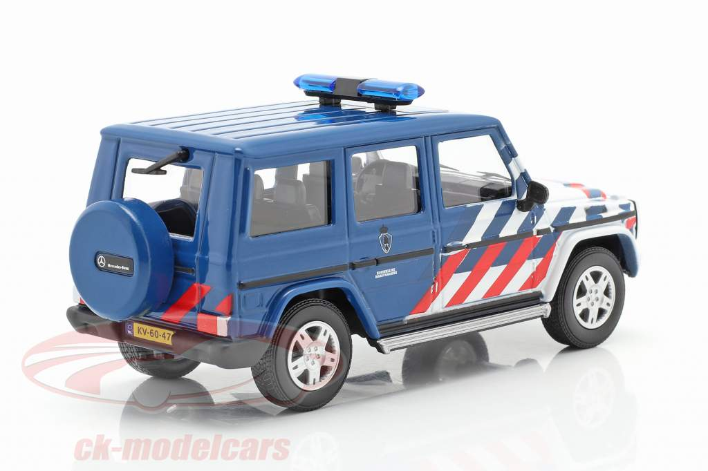 Mercedes-Benz Classe G police militaire Pays-Bas 1:43 Cararama