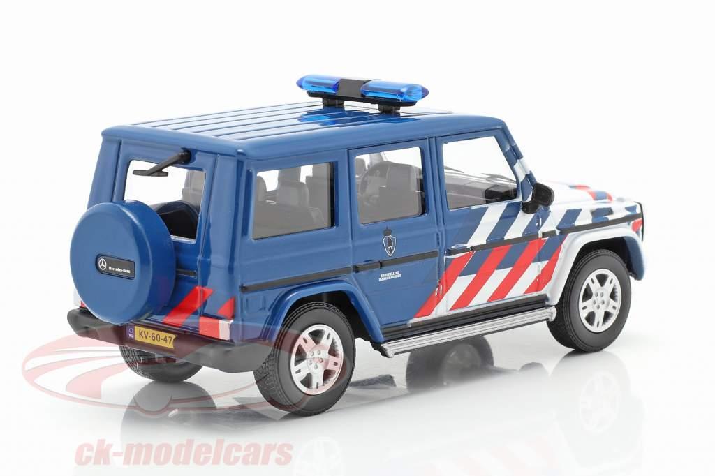 Mercedes-Benz G klasse militaire politie Nederland 1:43 Cararama