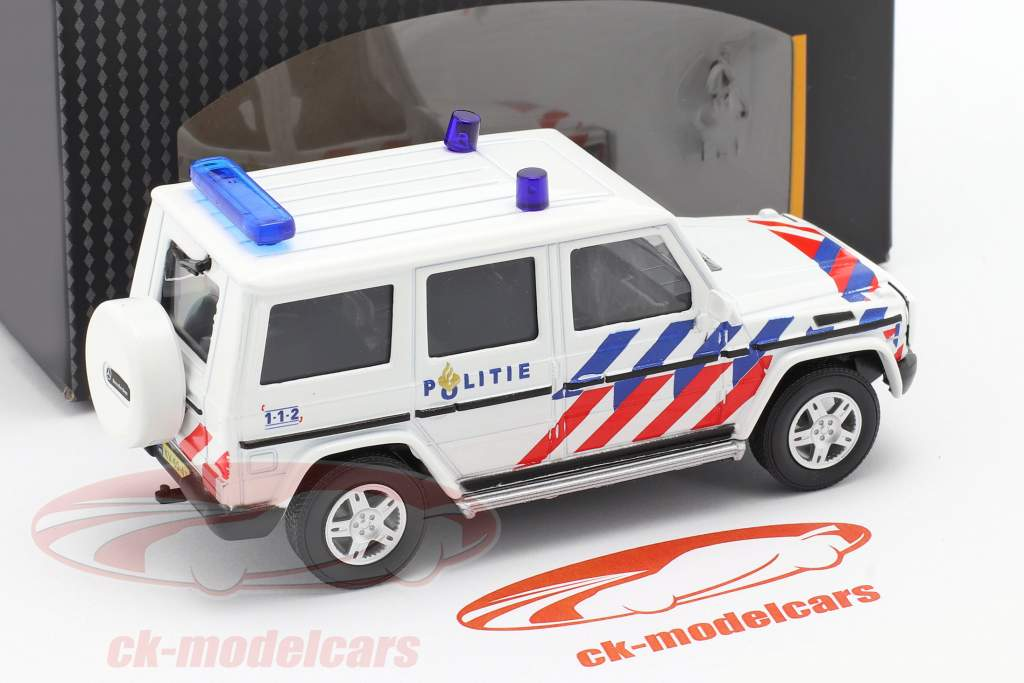 Mercedes-Benz G-klasse politi Holland 1:43 Cararama