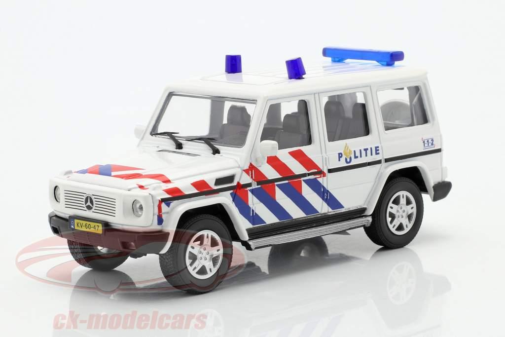 Mercedes-Benz G class police Netherlands 1:43 Cararama