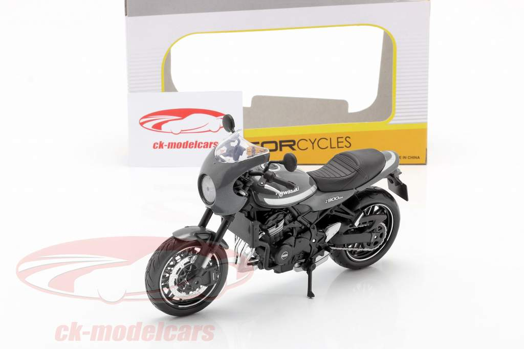 Kawasaki Z900RS Cafe grey / silver / black 1:12 Maisto
