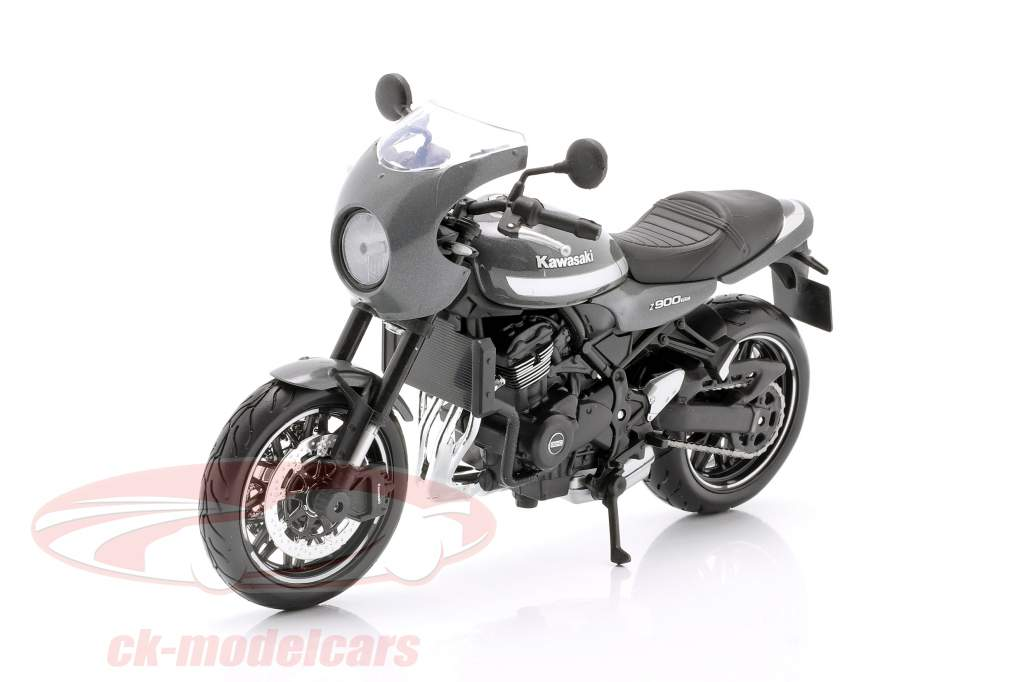 Kawasaki Z900RS Cafe gris / argent / noir 1:12 Maisto