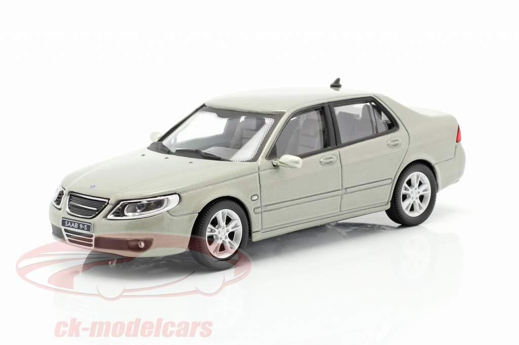 Saab 9.5 Aero Limousine grün-grau metallic 1:43 Cararama
