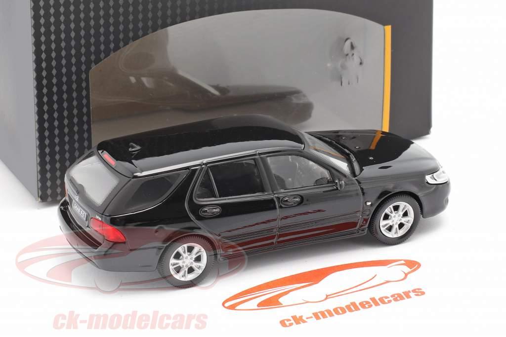 Saab 9.5 Tournée Break noir 1:43 Cararama