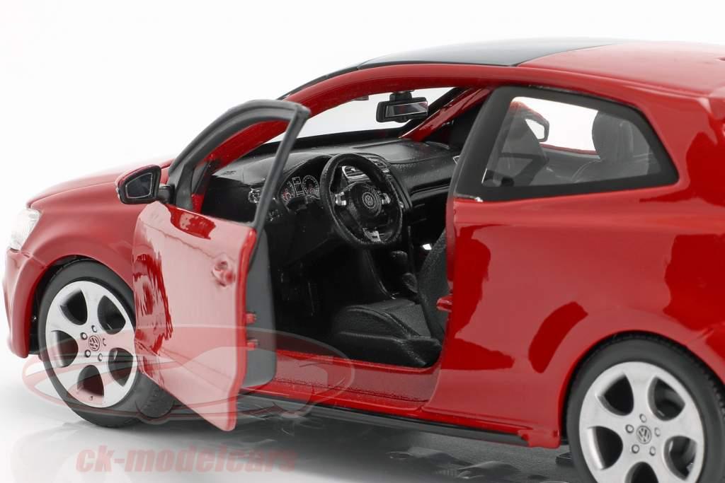 Bburago 21059 VW Polo 5 Gti Red Scale 1:24 Model Car New °