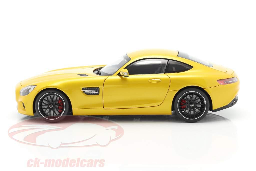 Mercedes-Benz AMG GTS anno di costruzione 2015 giallo 1:18 AUTOart