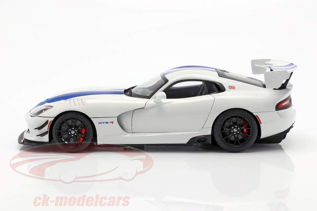 Dodge Viper GTS-R Commemorative Edition ACR 2017 perlweiß / blau 1:18 AUTOart