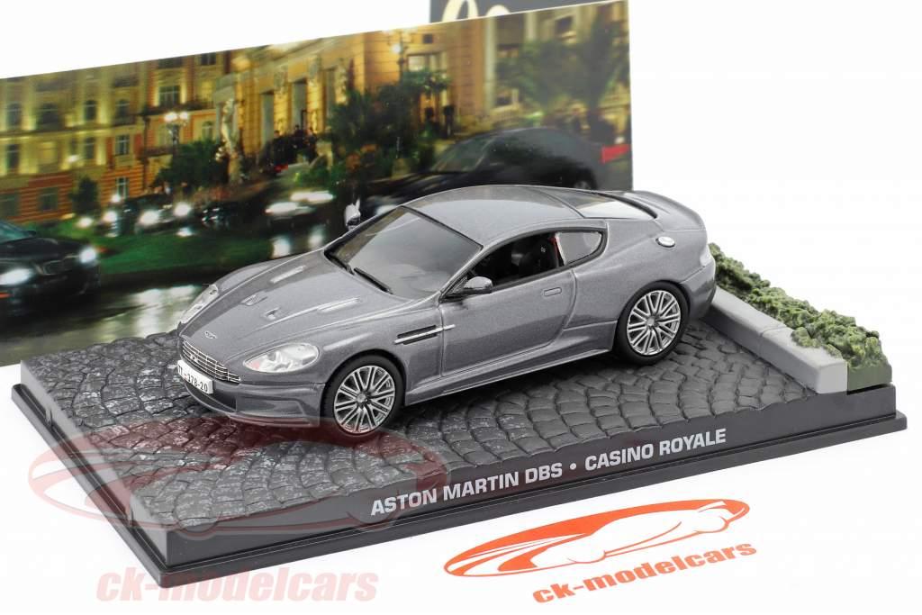 Ixo 1 43 Aston Martin Dbs James Bond Movie Casino Royale Gray Car Ky02 Model Car Ky02