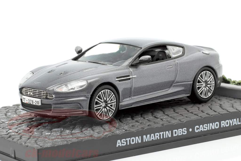 Aston Martin DBS James Bond Movie Car Casino Royale grau 1:43 Ixo