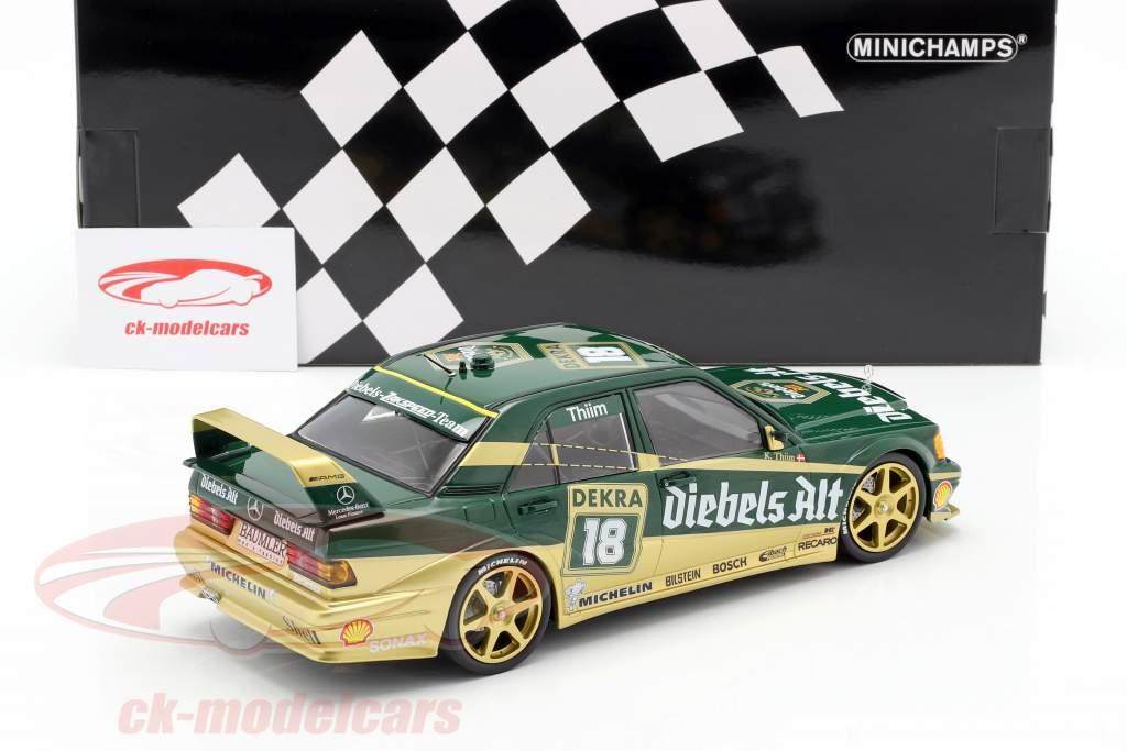 Mercedes-Benz 190E 2,5-16 Evo II #18 DTM 1992 Kurt Thiim 1:18 Minichamps