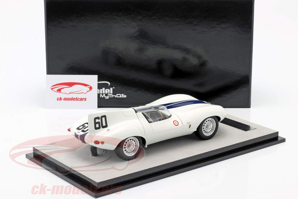 Jaguar D-Type #60 vincitore Watkins Glen GP 1955 Johnston 1:18 Tecnomodel