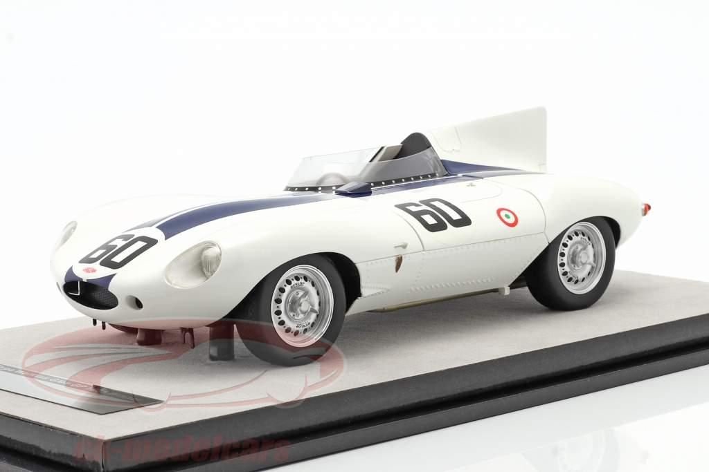 Jaguar D-Type #60 vinder Watkins Glen GP 1955 Johnston 1:18 Tecnomodel