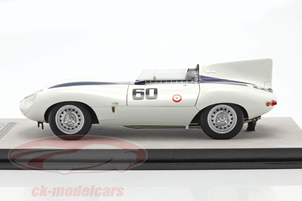 Jaguar D-Type #60 vencedora Watkins Glen GP 1955 Johnston 1:18 Tecnomodel