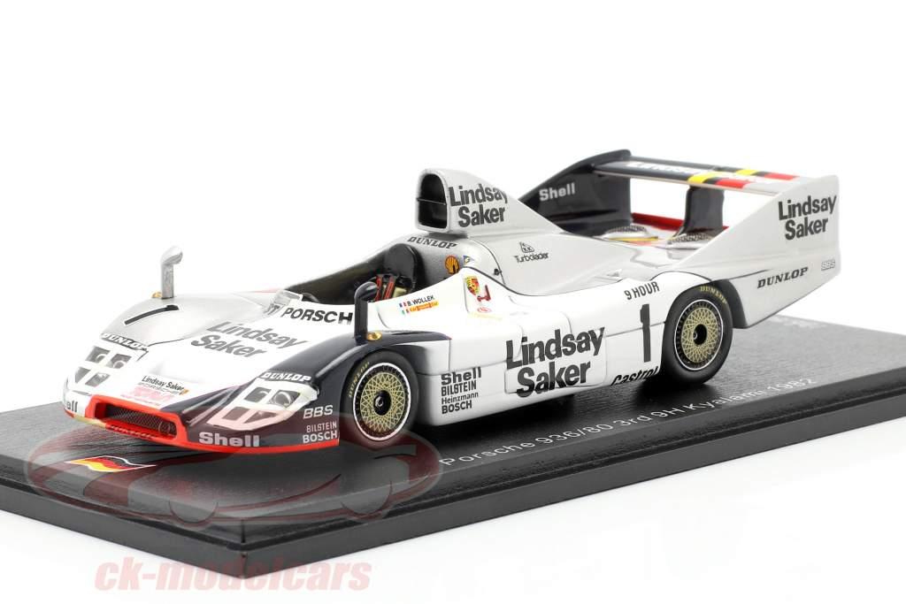 Porsche 936/80 #1 3. 9h Kyalami 1982 Wollek, Francia 1:43 Spark