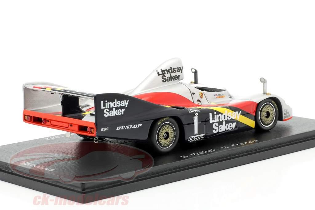 Porsche 936/80 #1 3ro 9h Kyalami 1982 Wollek, Francia 1:43 Spark