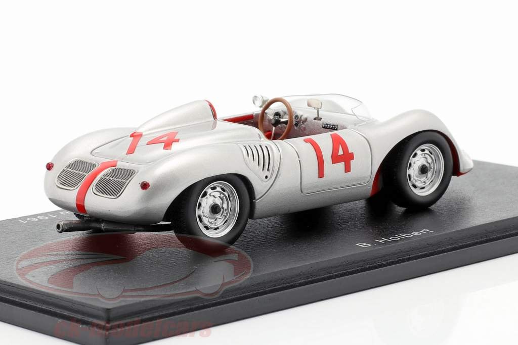 Porsche 718 RS #14 Nassau Trophy Race 1961 Bob Holbert 1:43 Spark