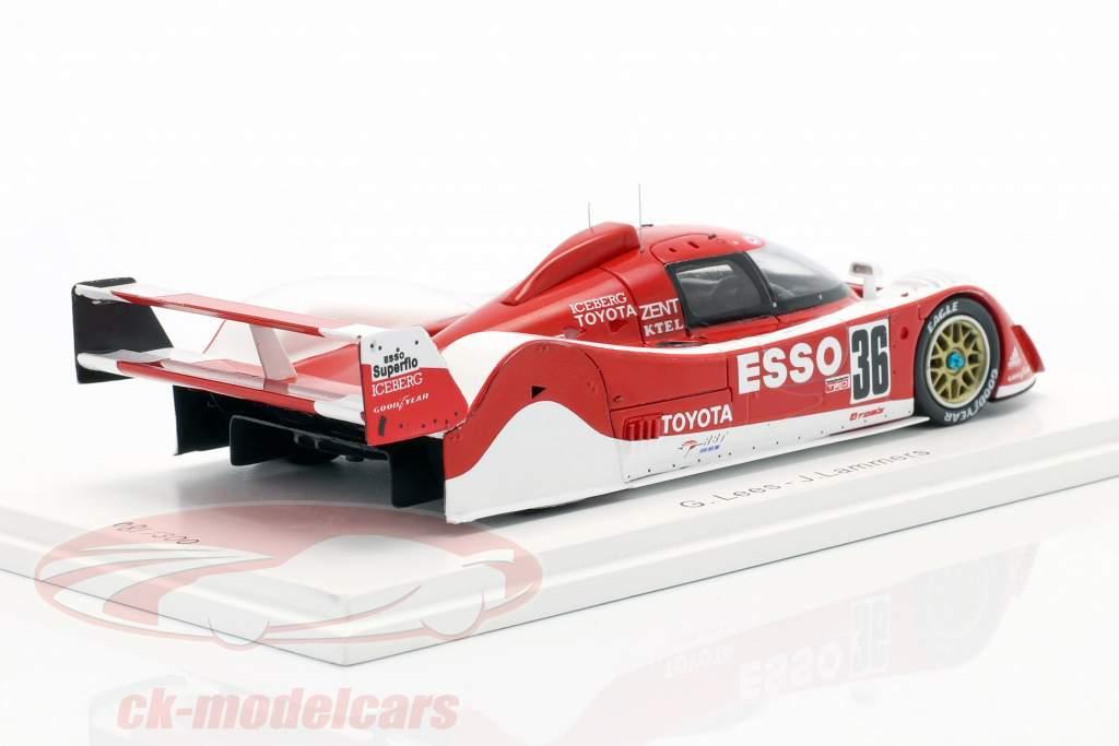 Toyota TS010 #36 vencedora 500km Mine 1992 Lees, Lammers 1:43 Spark