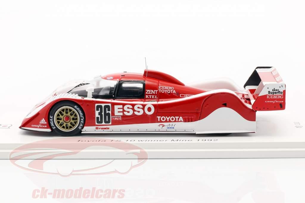 Toyota TS010 #36 winner 500km Mine 1992 Lees, Lammers 1:43 Spark
