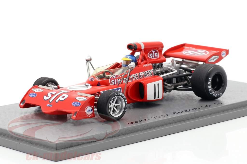 Ronnie Peterson March 721X #11 Belge GP formule 1 1972 1:43 Spark