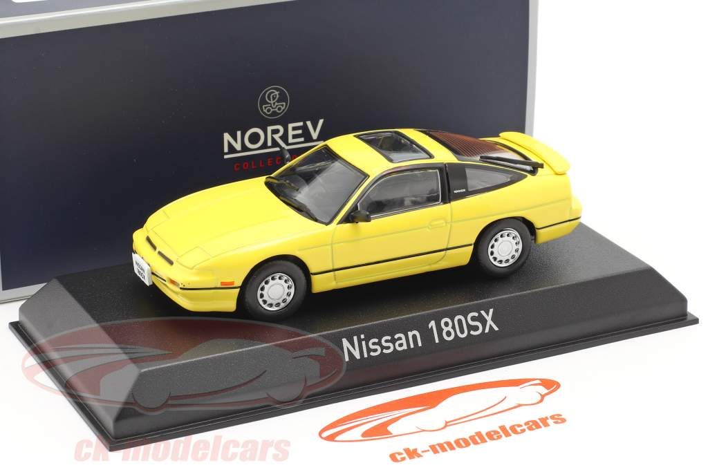 Nissan 180SX year 1989 yellow 1:43 Norev