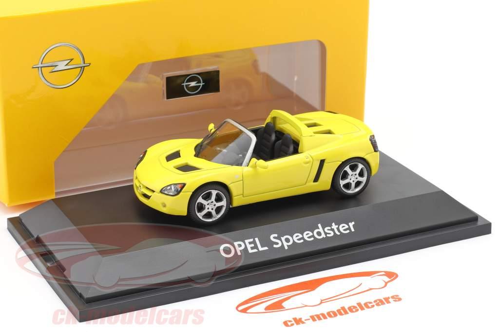 Opel Speedster gul 1:43 Schuco