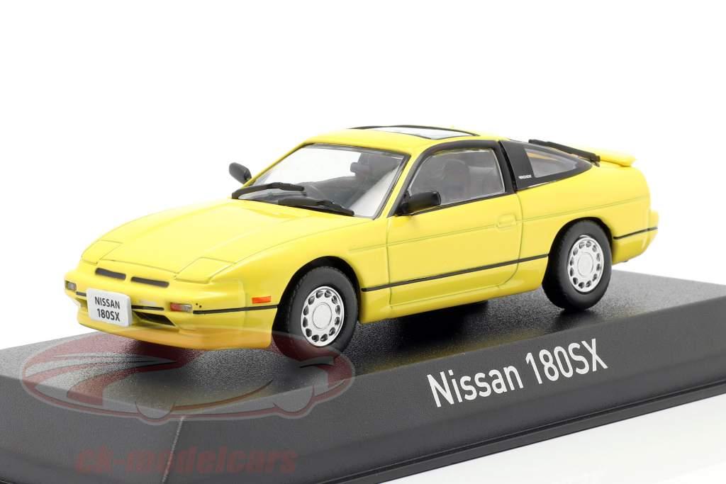 Nissan 180SX Anno di costruzione 1989 giallo 1:43 Norev