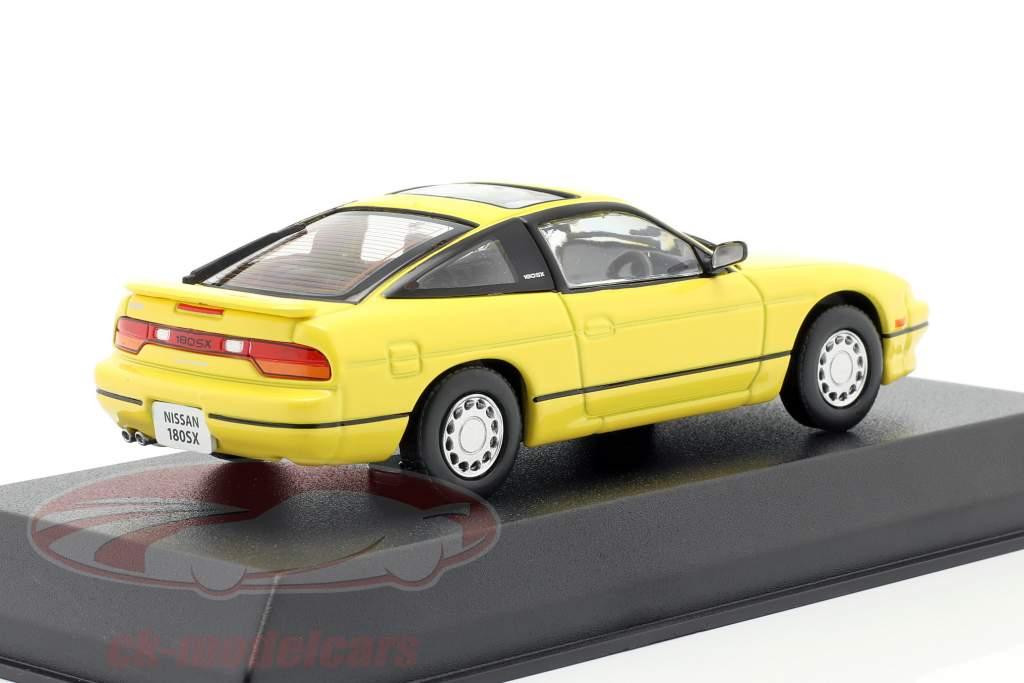 Nissan 180SX Ano de construção 1989 amarelo 1:43 Norev