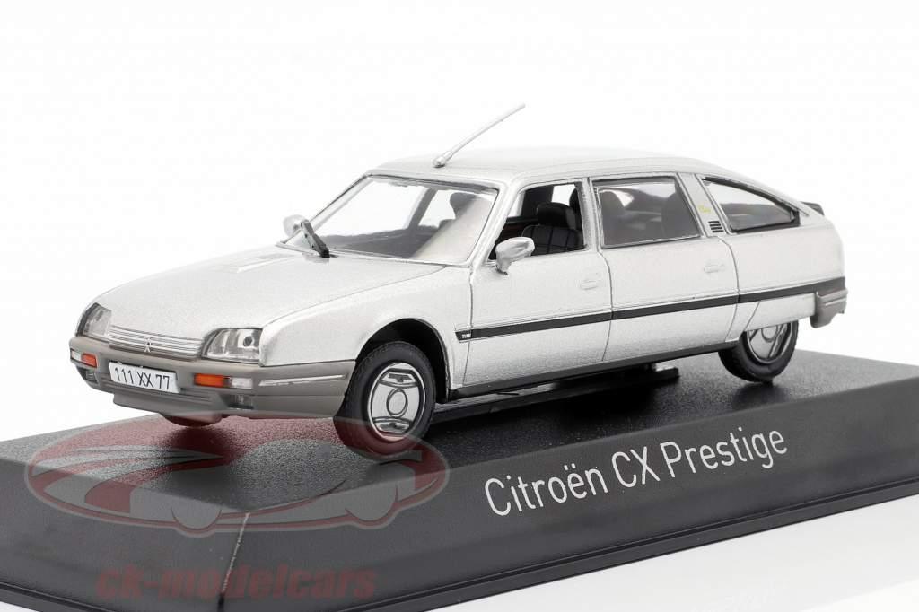 Citroen CX Turbo 2 Prestige Ano de construção 1986 prata metálico 1:43 Norev