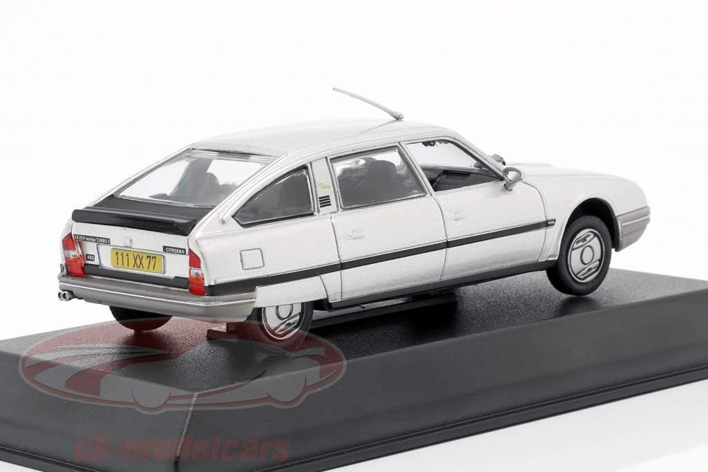 Citroen CX Turbo 2 Prestige year 1986 silver metallic 1:43 Norev