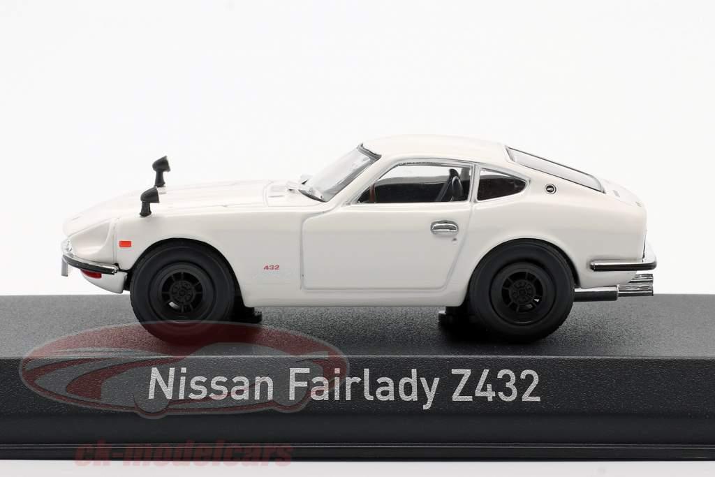 Nissan Fairlady Z432 Ano de construção 1969 Branco 1:43 Norev