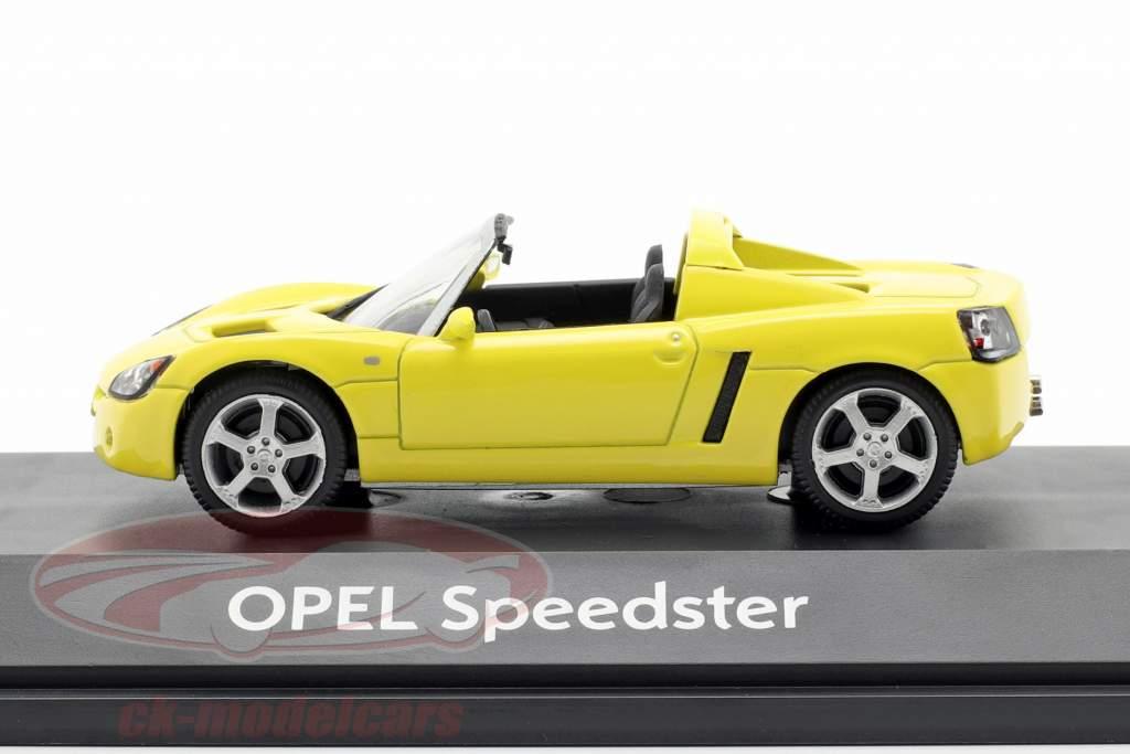 Opel Speedster giallo 1:43 Schuco