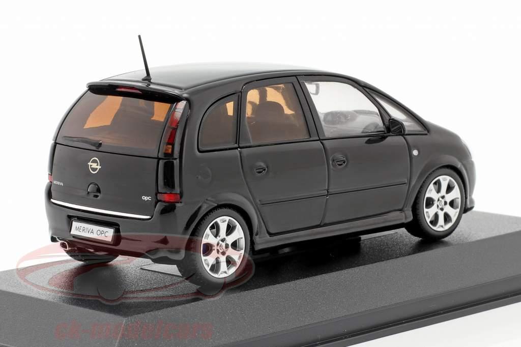 Opel Meriva OPC noir 1:43 Minichamps