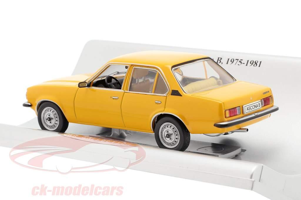 Opel Ascona B 4 porte Anno di costruzione 1975-1981 arancia 1:43 Schuco