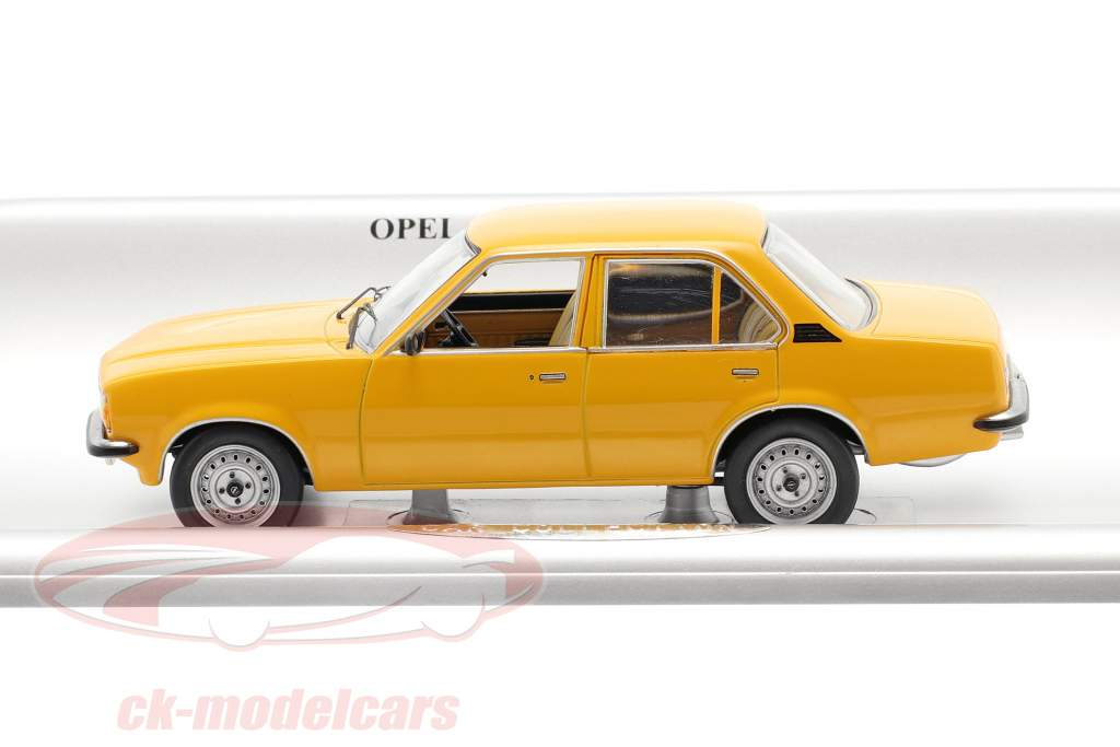 Opel Ascona B 4-door year 1975-1981 orange 1:43 Schuco