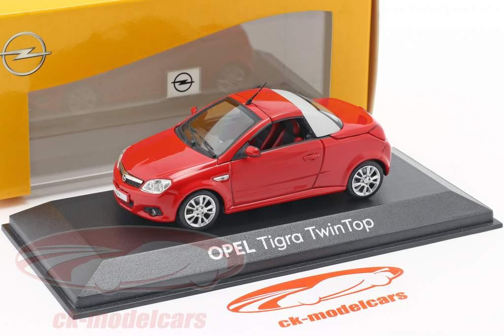 Opel Tigra Twintop rojo 1:43 Minichamps