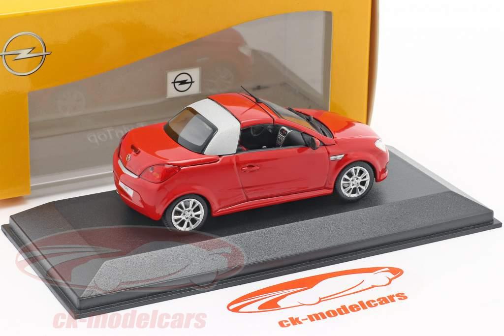 Opel Tigra Twintop rood 1:43 Minichamps