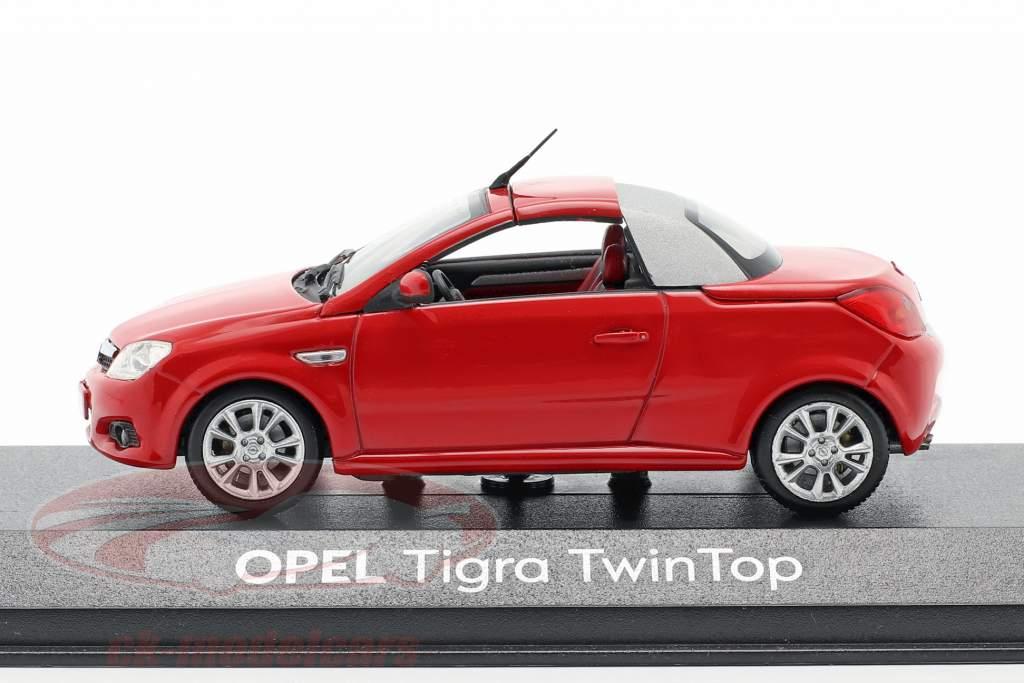 Opel Tigra Twintop rosso 1:43 Minichamps