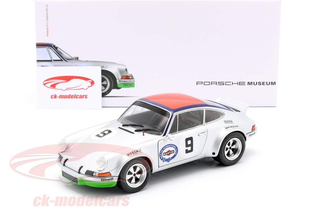 Porsche 911 Carrera RSR 2.8 #9 3ro Targa Florio 1973 Kinnunen, Haldi 1:18 Solido