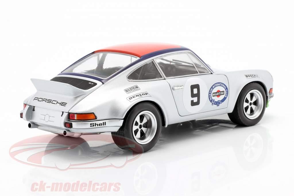Porsche 911 Carrera RSR 2.8 #9 3º Targa Florio 1973 Kinnunen, Haldi 1:18 Solido